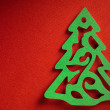 Christmas paper background texture, papercraft theme — Foto de Stock