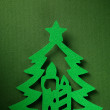 Christmas paper background texture, papercraft theme — Photo