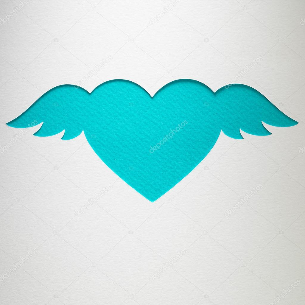 Как сделать сердце ангела