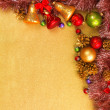 Abstract Christmas gold background — Stock Photo #21806255