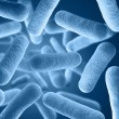 Bacteria background render - Stock Photo