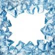 quadro de gelo — Foto Stock