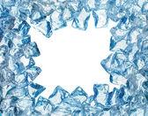 Cornice di ghiaccio — Foto Stock