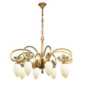Vintage chandelier — Stock Photo