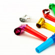 Birthday whistles — Stock Photo #19874741