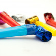 Birthday whistles — Stock Photo #19874743