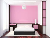 Modern Bedroom Interior — Fotografia Stock
