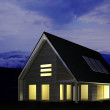 Stock Photo: Modern house