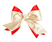 Ribbon with bow — Stock Photo