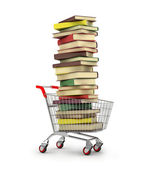 Shopping for Books — Stock Photo