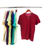 Colorful t-shirts — Stock Photo