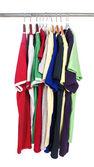 Kolorowe koszulki — Zdjęcie stockowe