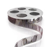 3d film reel copy — Stock Photo