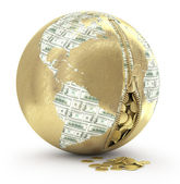 World finance concept — Photo