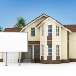 One stylized house — Stock Photo #47113719