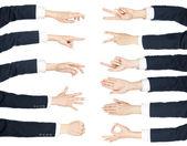 Mãos — Foto Stock