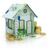 Euro house — Stock Photo