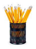 Cup with  pencils — Stock Photo