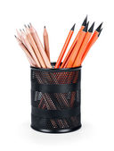 Cup with  pencils — Stockfoto