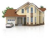 3d house — Stockfoto