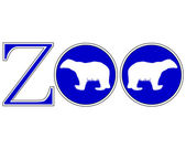 Zoo animals — Vector de stock