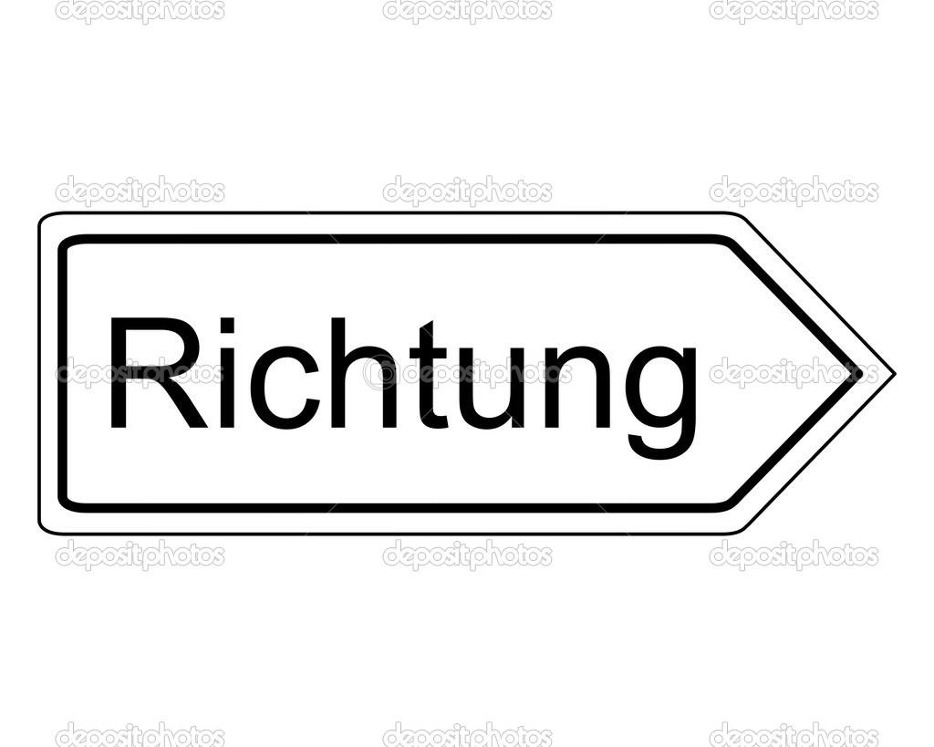 方向指示标志 — 矢量图片作者