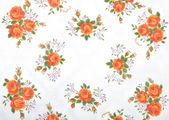 Cloth with flowers — Stock Photo