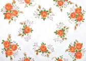 Panno con fiori — Foto Stock