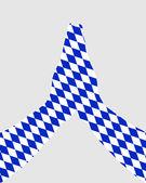 Bavorský modlí — Stock vektor