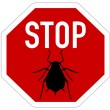 Aphid stop sign — Stock Vector #51612037