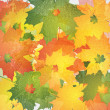 Grunge autumn background — Imagen vectorial