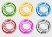Colourful circles — Stock Vector