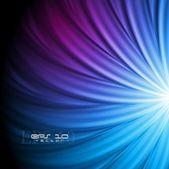 Disegno vettoriale blu brillante — Vettoriale Stock