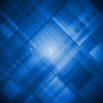 Blue technology background — Vector de stock  #14506021