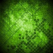 Abstract green grunge technical background — Stock Vector