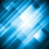 Blue tech abstract design — Stock Vector