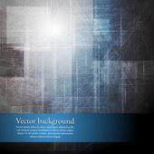 Abstract grunge hi-tech design — Stock Vector