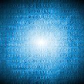 明亮的蓝色高科技 grunge 背景 — 图库矢量图片