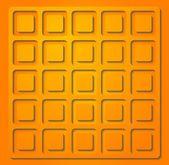 Bright orange vector illustration — Stock Vector