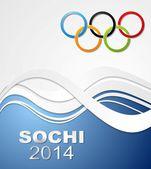 Olympic Games in Sochi, 2014 — Stock Vector