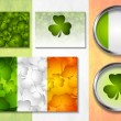 Stock Vector: Patricks Day vector design