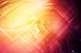 Abstract hi-tech bright background — Stock Photo