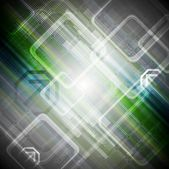 Abstract hi-tech background — Vector de stock
