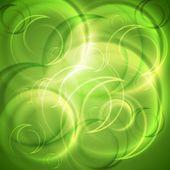 Grön bakgrund — Stockvektor