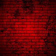 Red grunge brick wall background — Stock Vector #51438941