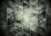 Dark grey geometry grunge background — 图库矢量图片