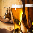 Still life with a draft beer — Stock Photo #13186773