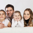 Happy young family — Stock Photo #13193806