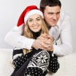 Portrait of a happy young couple — Stock Photo #13193809