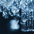 Chrystal chandelier close-up — Stock Photo #15563621